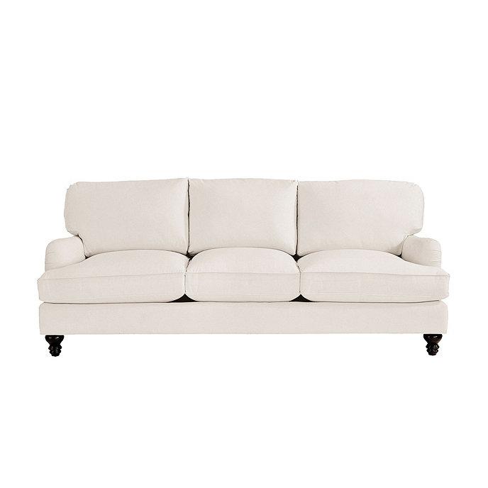Eton sofa european inspired home furnishings ballard for Ballard designs sectional sofa