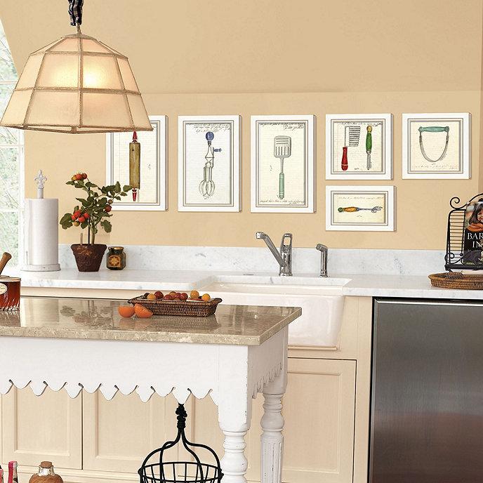Kitchen Wooden Wall Art   Ballard Designs