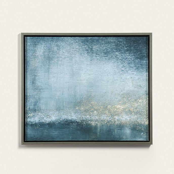Twilight On The Seine Abstract Art