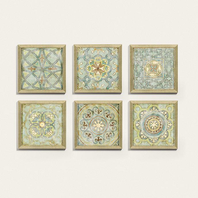 vintage cloisonne framed prints
