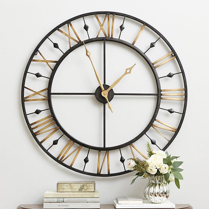 Wall Clock Ballard Design : Chateau betton clock