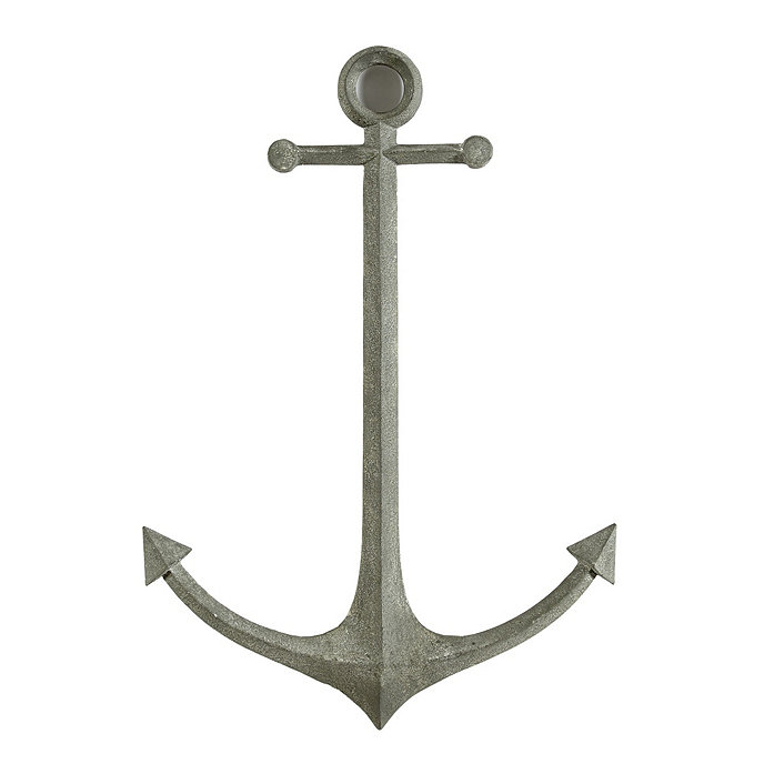 Anchor Wall Decor Metal : Metal anchor wall decor ballard designs