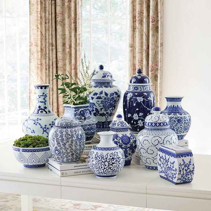 blue white chinoiserie collection ballard designs. Black Bedroom Furniture Sets. Home Design Ideas