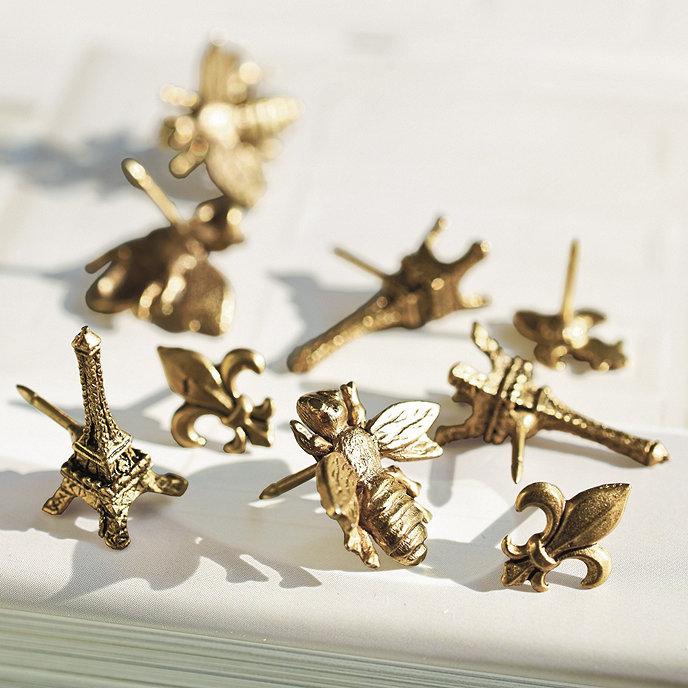 set of 12 style tacks home accessories ballard designs