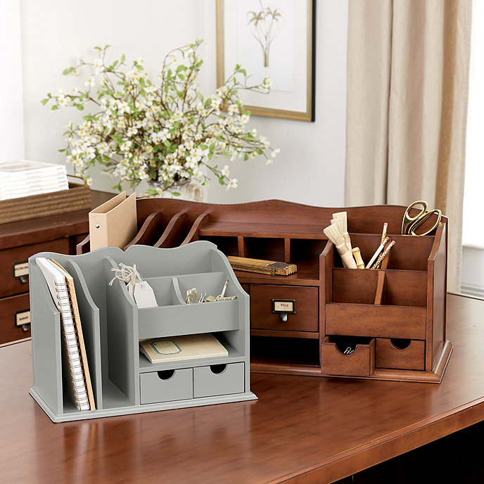 Original home office desk organizers ballard designs - Ballard design home office ...