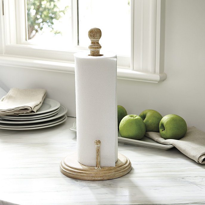 jillian countertop paper towel holder ballard designs. Black Bedroom Furniture Sets. Home Design Ideas