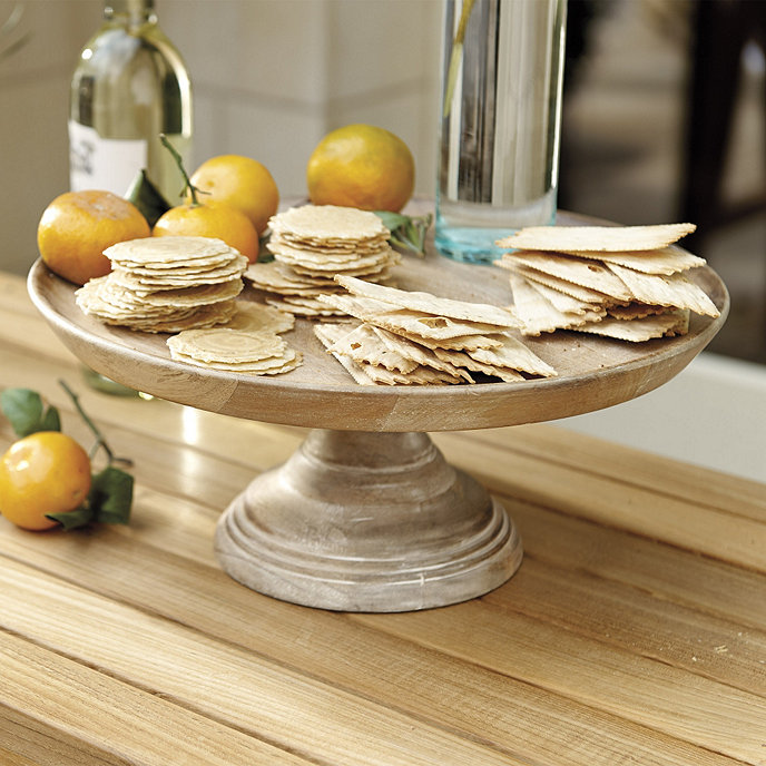 Extra Large Glass Cake Stand