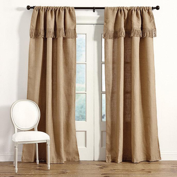 Burlap Panels Curtains - Curtains Design Gallery