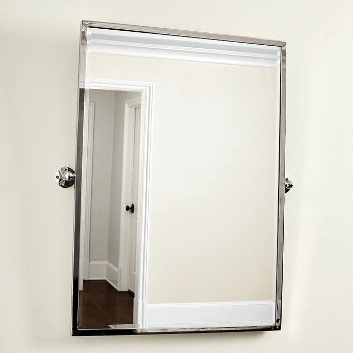 Emmie pivot bath mirror ballard designs for Pivot mirrors for bathroom