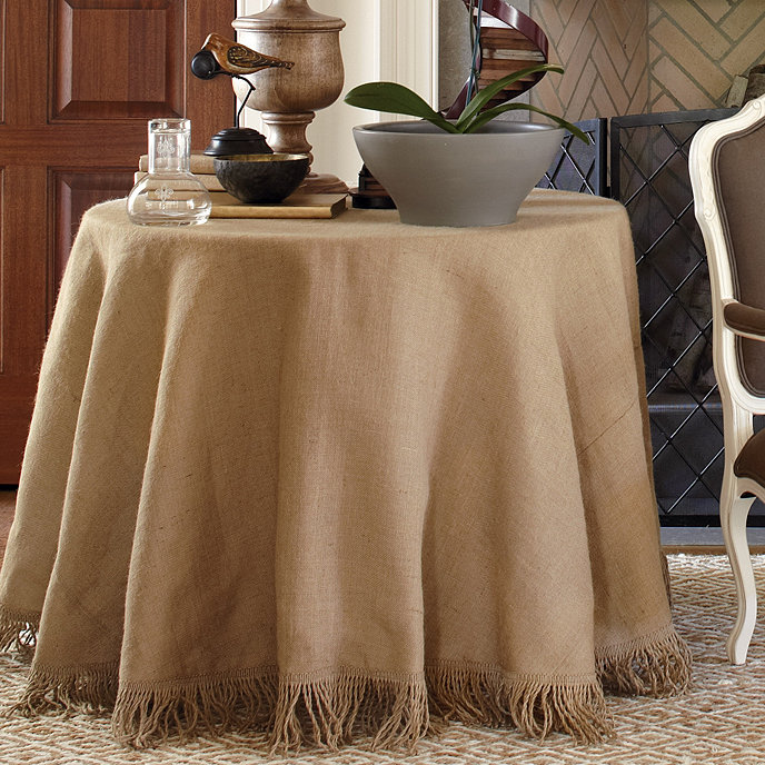 Fringed Tablecloth Ballard Designs