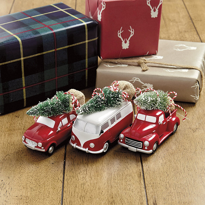 Vintage Car Ornaments