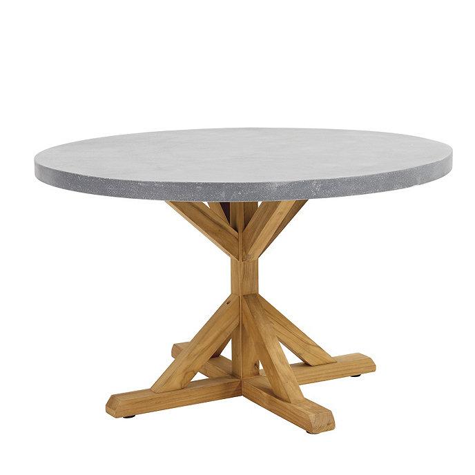 kasler orleans 48 round pedestal dining table ballard designs