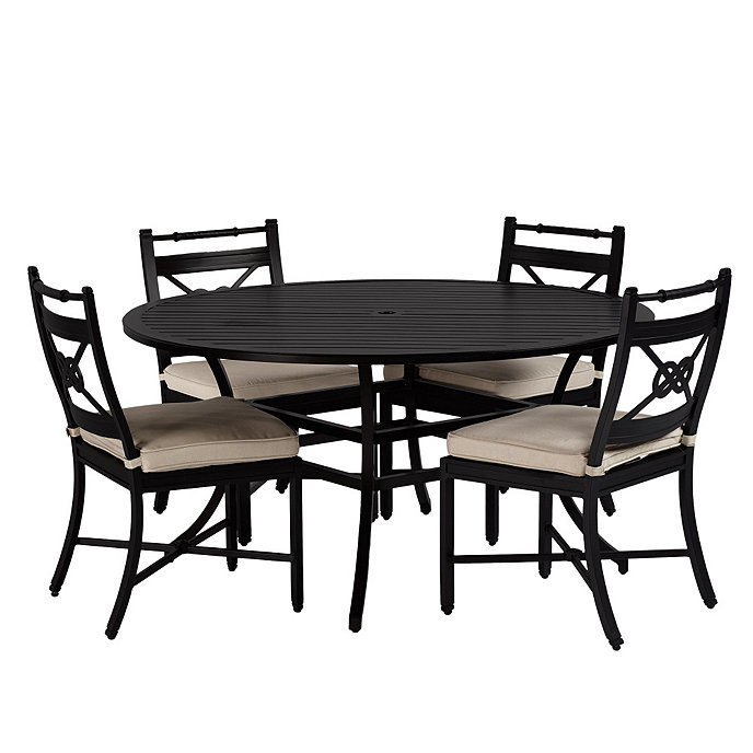 Newport 5 Piece Dining Set With Side Chairs Ballard