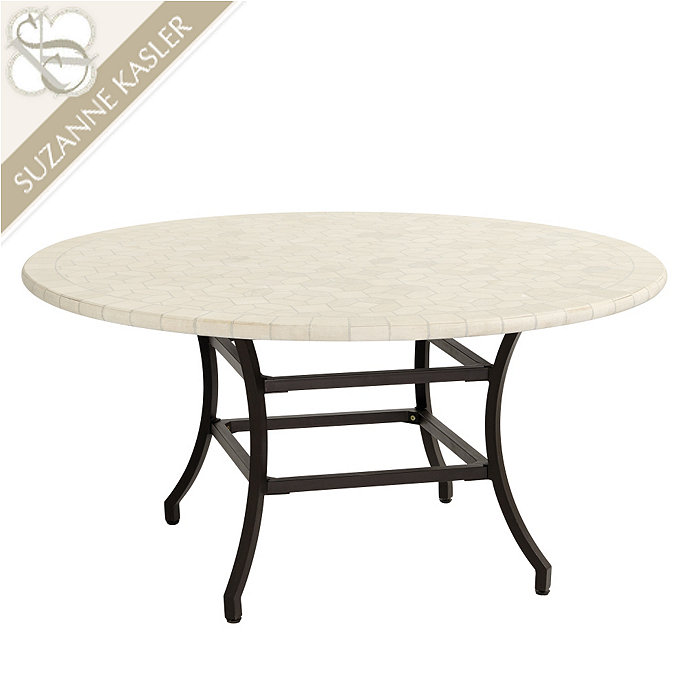 Suzanne kasler mosaique dining table ballard designs - Table exterieur mosaique ...