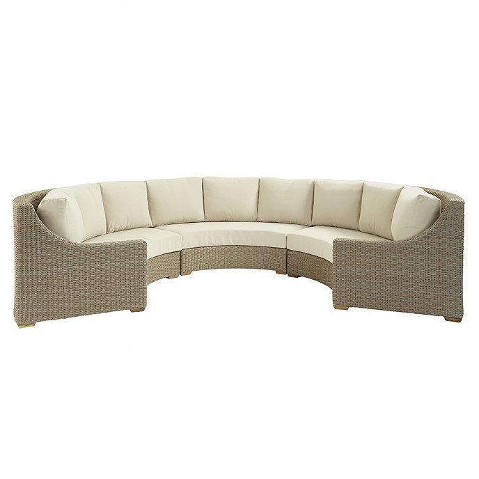 Navio 3 piece sectional ballard designs for Ballard designs chaise lounge
