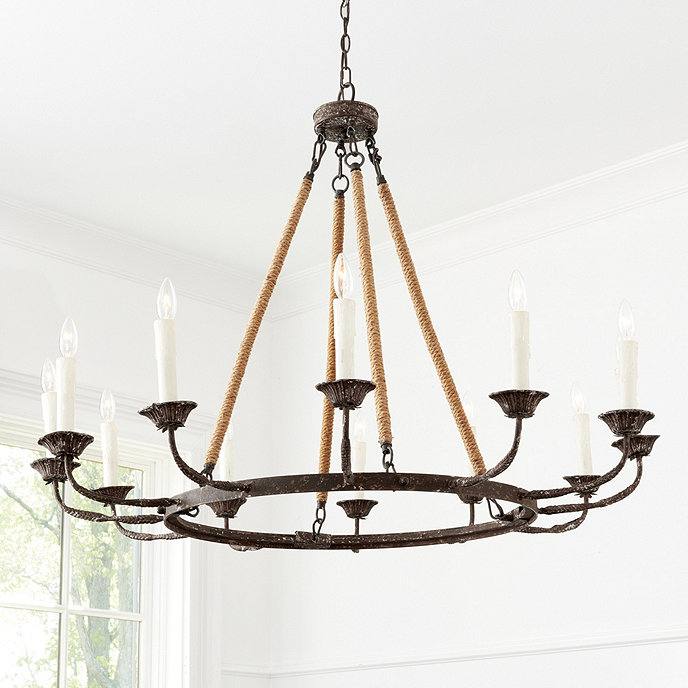 Ballards Lighting: Laurenza 12-Light Chandelier