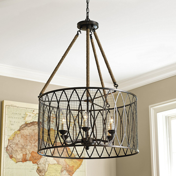 Ballards Lighting: Denley 6 Light Pendant Chandelier