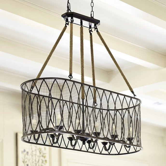 Ballards Lighting: Denley 10 Light Pendant Chandelier