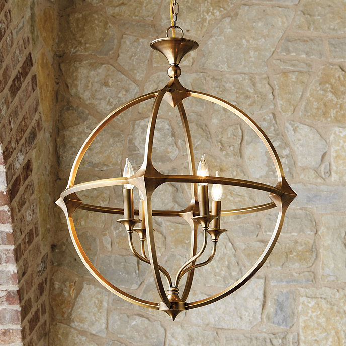 Ballards Lighting: Casa Florentina Lando Orb 4