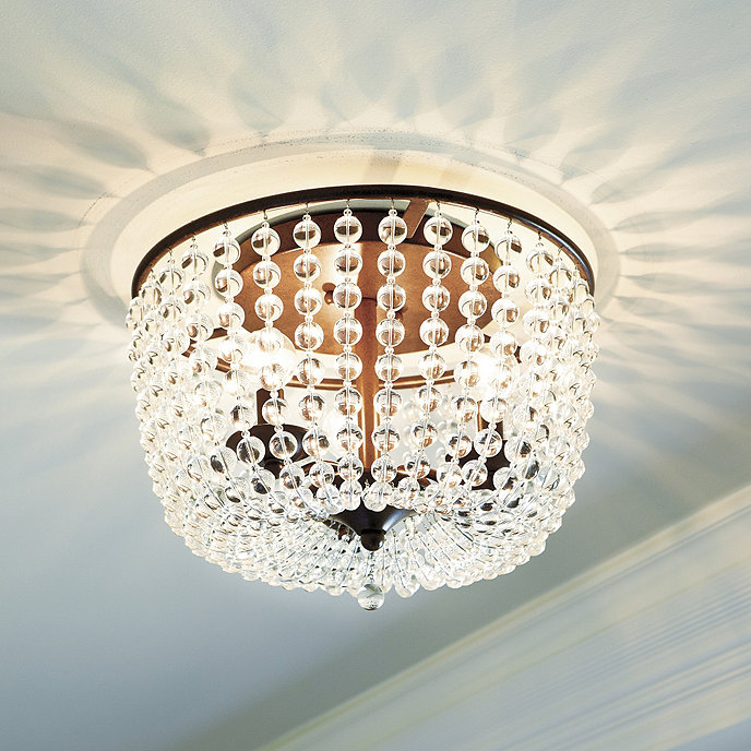 Margeaux Ceiling Mount Chandelier – Small Ceiling Chandeliers