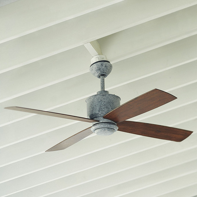 Carter Indoor/Outdoor Ceiling Fan | Ballard Designs