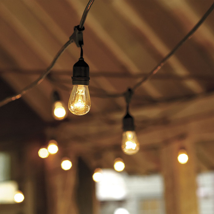 Ballards Lighting: Vintage String Lights With Bulbs