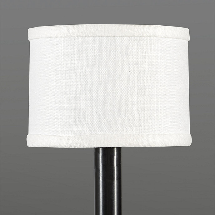 Mini Shades For Chandelier: Linen Drum Chandelier Shade,Lighting