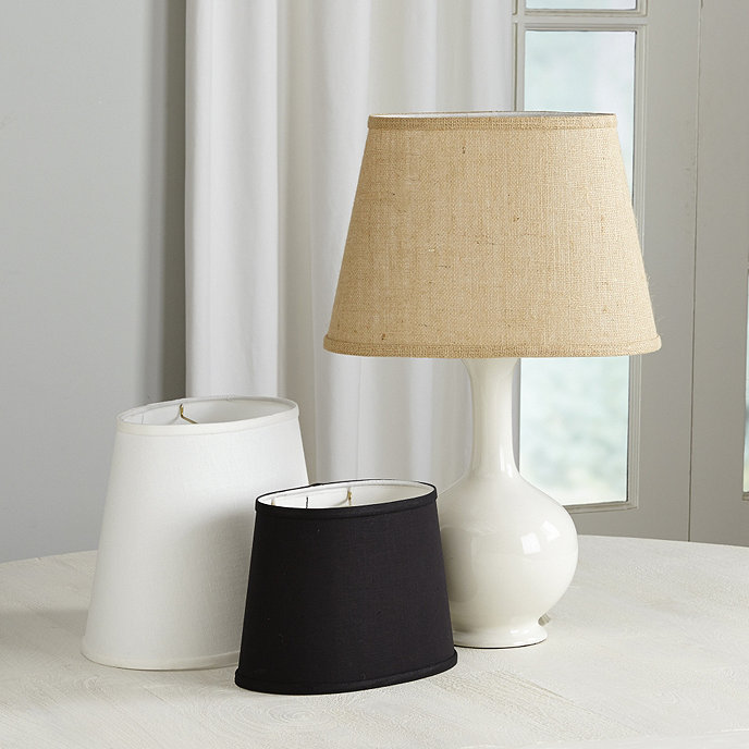 couture oval lamp shade ballard designs. Black Bedroom Furniture Sets. Home Design Ideas