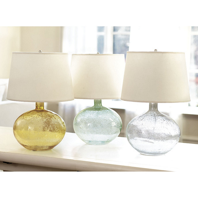 Ballard Designs Table Lamps ballard designs eloise marble table lamp base Malia Seeded Glass Table Lamp