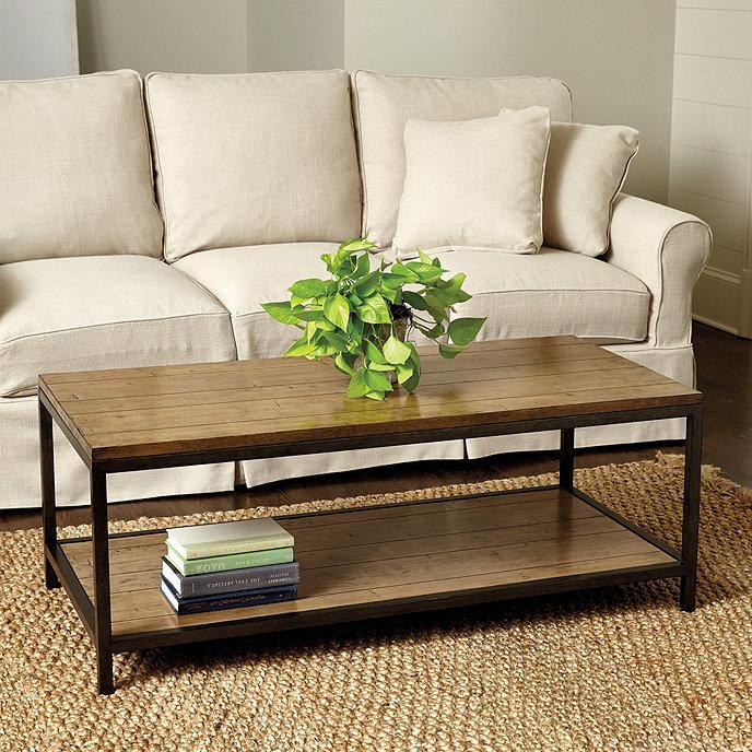 Durham Rectangular Coffee Table - Felicity Acrylic Coffee Table Ballard Designs