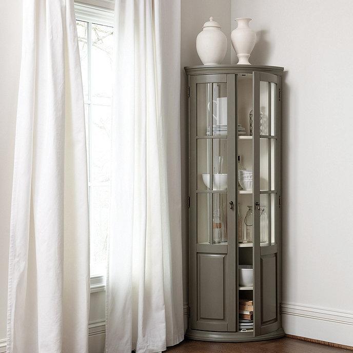 Full Chilton Curved Corner Cabinet