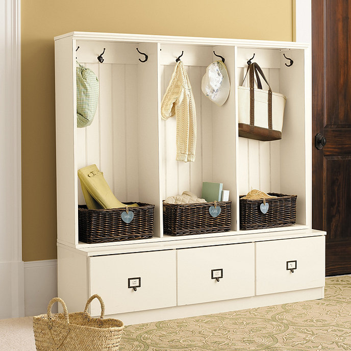 Triple Beadboard Entry Cabinet Ballard Designs