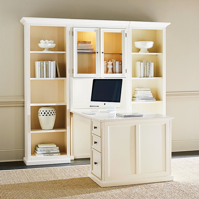 Tuscan return office group small ballard designs - Ballard design home office ...