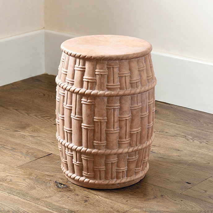 Bunny Williams Bamboo Garden Seat Ballard Designs