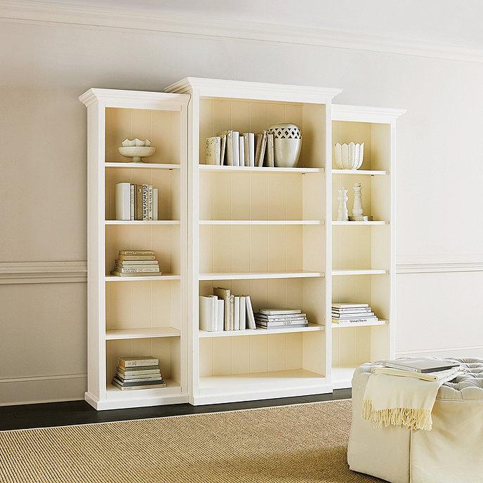 Tuscan Bookcase Set - 3 Piece - Tuscan Bookcase Set 3 Piece Ballard Designs