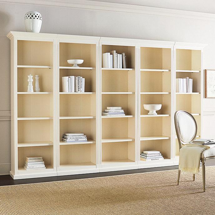 Tuscan Flush Bookcases - Set of 5 - Tuscan Flush Bookcases Set Of 5 Ballard Designs