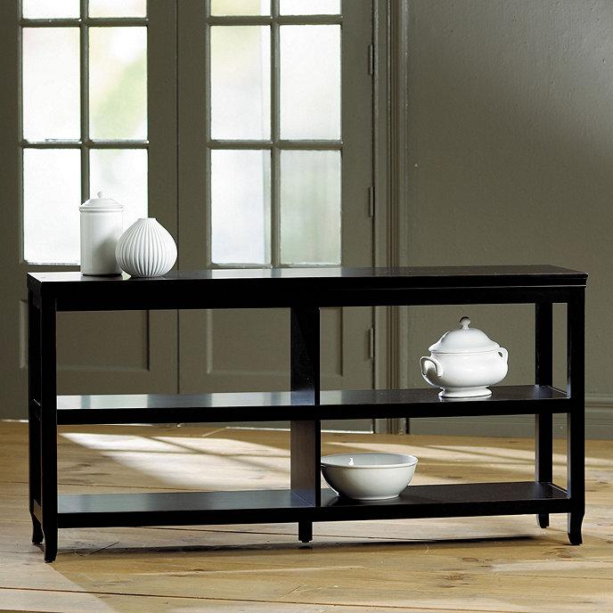 Morgan Double Wide Low Shelf - Morgan Double Wide Low Shelf Ballard Designs