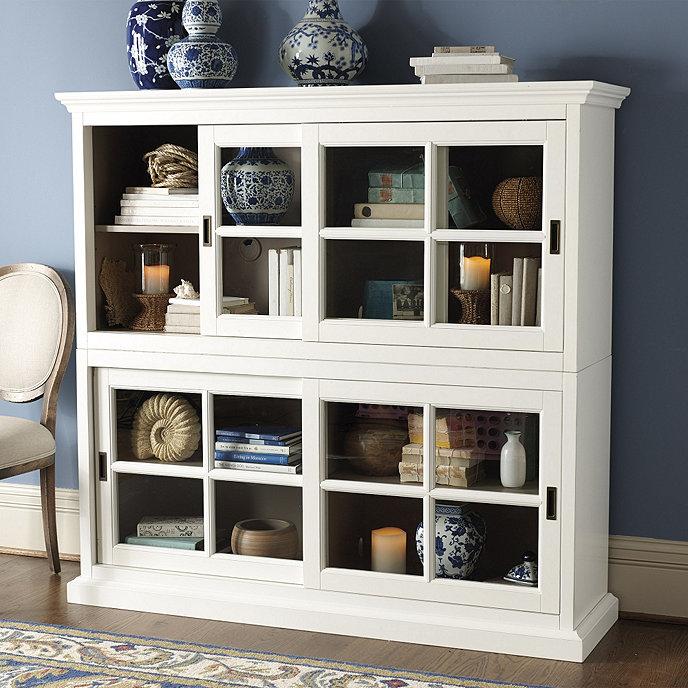 Cortona Bookcase - Cortona Bookcase Ballard Designs