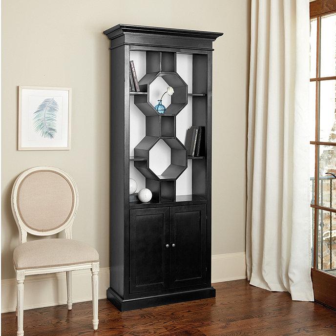 Octavia Bookcase - Durham Tall Bookcase Ballard Designs