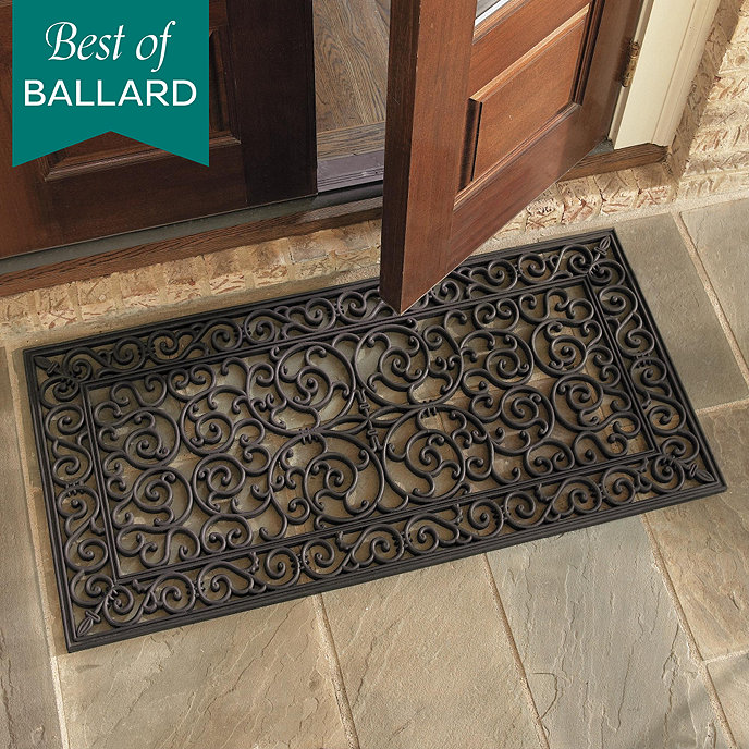 Tremendous Highgate Doormat Double Door Ballard Designs Door Handles Collection Olytizonderlifede