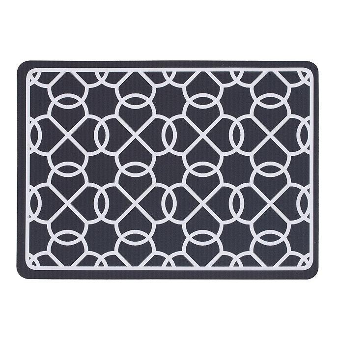 suzanne kasler quatrefoil comfort mat ballard designs