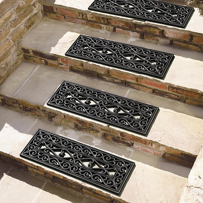 Carved Wood Stair Risers Stair Ideas Stamped Leather: Highgate Doormat Stair Treads