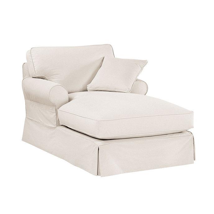 Baldwin chaise slipcover special order fabrics ballard for Ballard designs chaise lounge