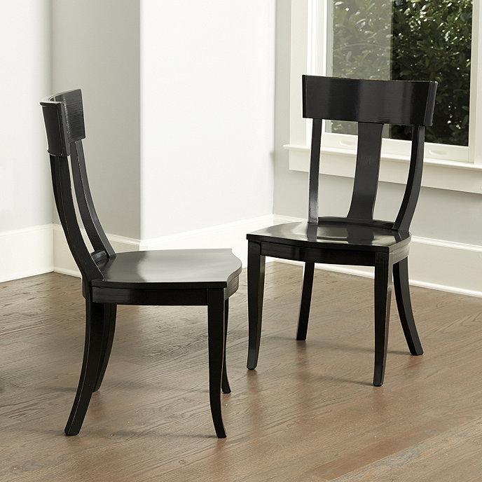 Ballard Design Kitchen Chairs: Arletta Klismos Dining Chairs