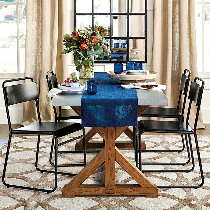 Tatum Trestle Dining Table Ballard Designs