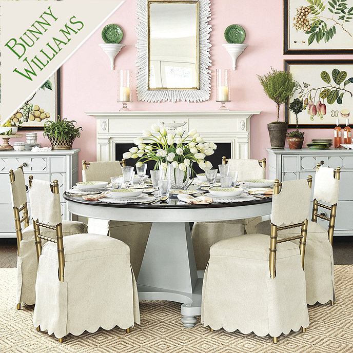 Bunny Williams Manor House Dining Table | Ballard Designs