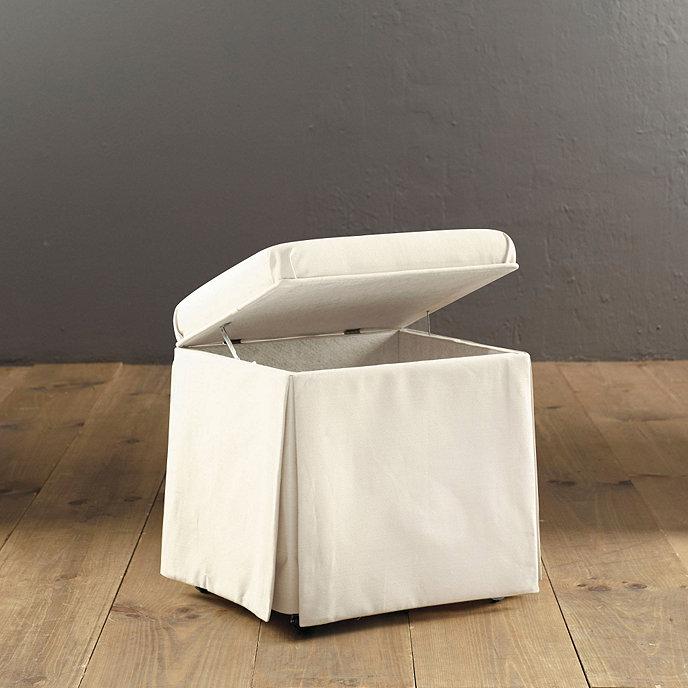 Hamper stool ballard designs for Small bathroom hamper