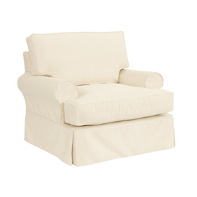 davenport club chair slipcover and frame ballard designs