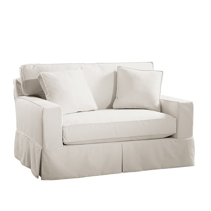 Sleeper sofa slipcover thesofa Sleeper sofa covers