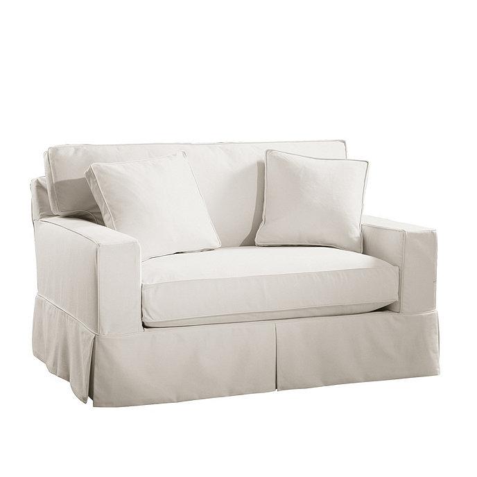 Sleeper sofa slipcover thesofa for Sleeper sofa covers design